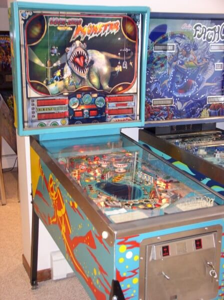 Most expensive pinball machines- #3 The Loch Ness Monster - $20,327