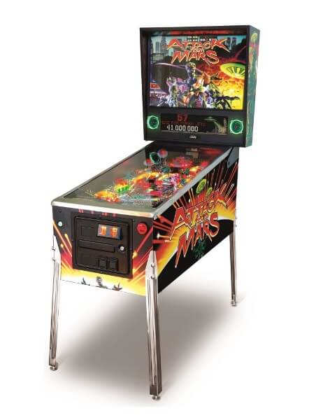 Most expensive pinball machines - #9 Attack from Mars (Remake Special Edition) - $7,300