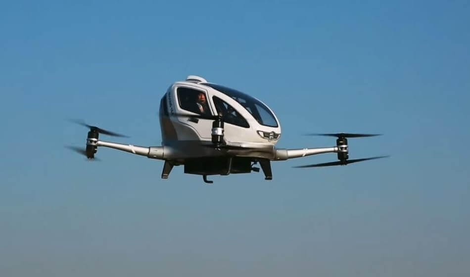The most expensive drones in the world - #2 The EHang 184 - $300,000