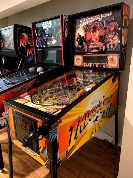 Most expensive pinball machines - #6 The Indiana Jones Pinball Machine - $9,500