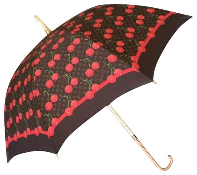 LV umbrella - #2 most expensive umbrella in the world