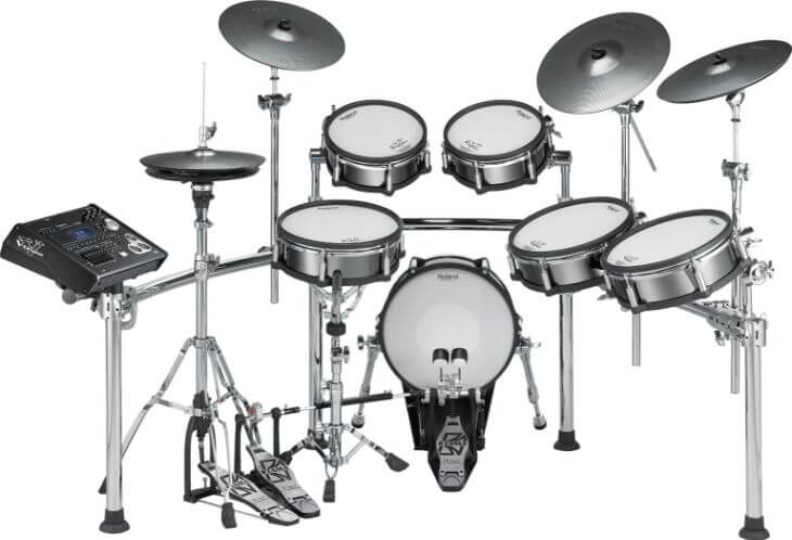 Roland TD-30KV V-Pro Series - #5 most expensive drum sets you can buy in the market