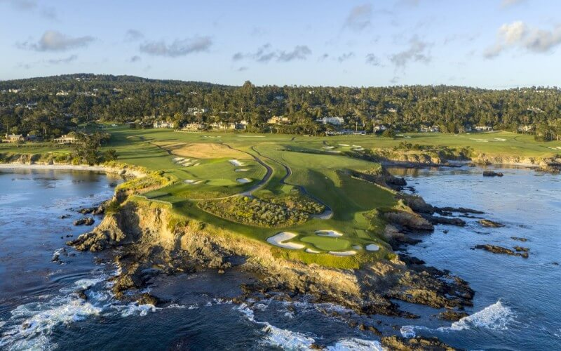 Pebble Beach Links - Most Expensive Golf Courses in the world