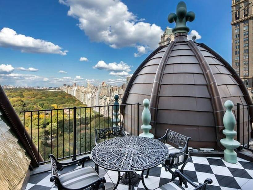 Most Expensive Condos - 15. Dome Penthouse in the Plaza Hotel, New York
