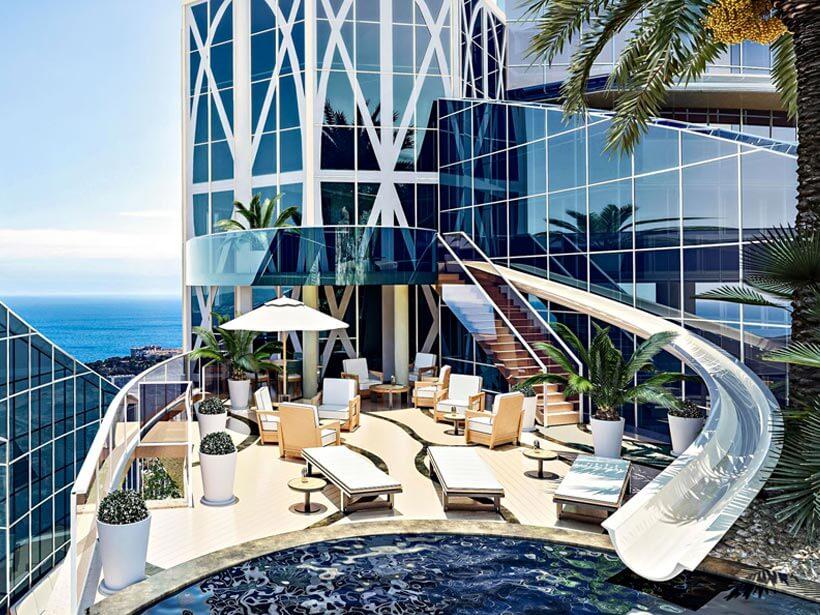 Most Expensive Condos - 1. Tour Odeon Sky Penthouse, Monaco