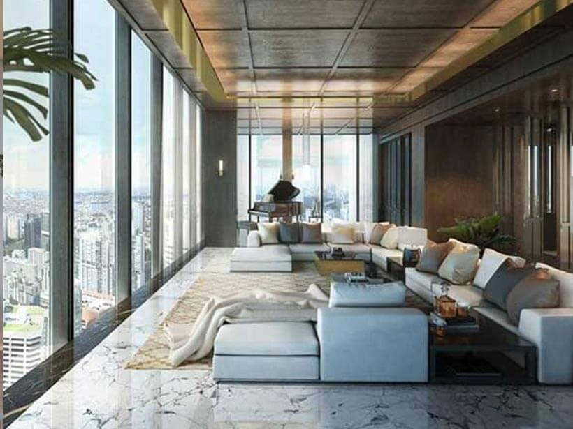 Most Expensive Condos - 11. Wallich Residence Penthouse, Singapore